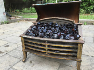 Vintage Electric Fireplace Hearth
