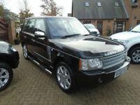 2008 58 Reg Land Rover Range Rover 3.6TD V8 Auto Vogue SE