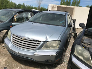 2004 Chrysler Pacifica ** FOR PARTS ** INSIDE & OUTSIDE **