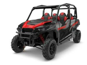 2018 Polaris GENERAL 4 1000 EPS BLACK PEARL