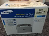 Samsung Monochrome Laser Printer (cartridge included)