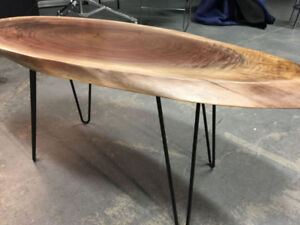 Brand New, Hand Crafted Live Edge Coffee Table