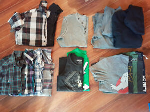 Mens Clothing...Size  sml / med shirts and 29/30/sml bottoms
