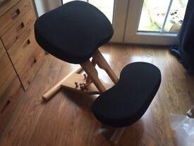 Putnams kneeling posture chair