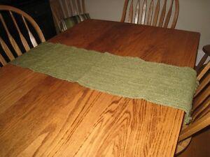 Green Table Runner