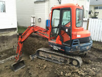 Excavating and Hauling Services