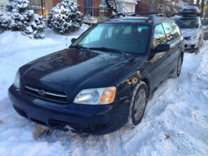 2001 Subaru Legacy Wagon -- NEEDS CLUTCH