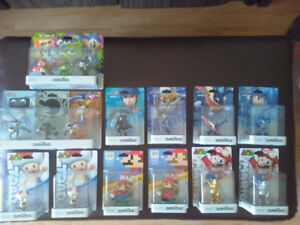 REDUCED PRICES - AMIIBO COLLECTION! (READ DESCRIPTION)
