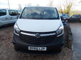 Vauxhall Vivaro 9 seat lwb minibus