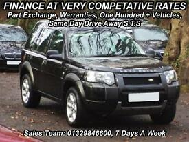 Land Rover Freelander 2.0Td4 auto 2004MY SE