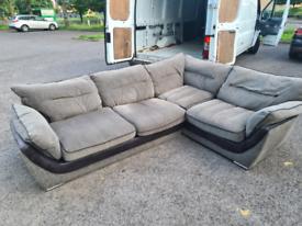 Harvey's corner grey sofa