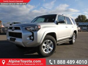 2017 Toyota 4Runner SR5  4x4 - Nav - Heated Seats - Sunroof - To