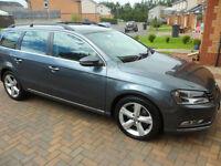 Volkswagen Passat 2.0TDI BlueMotion Tech DSG SE**DIESEL ESTATE**140BHP**VW FSH**