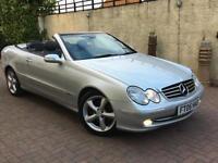 2005 05 reg Mercedes-Benz CLK240 2.6 auto Avantgarde. Fully loaded.