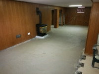 Basement floor removal and re-pour !