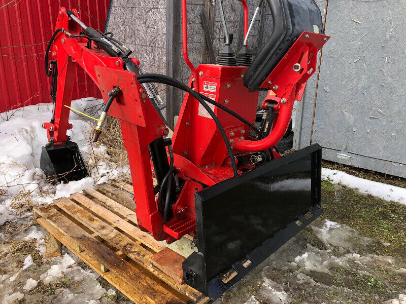 Skid Steer 3 pt Hitch Adapter for Backhoe | Heavy Equipment Parts &  Accessories | Sudbury | Kijiji