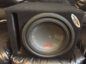 Sub and amp for sale.