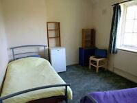 Twin room in Shepherd's Bush, £180pw inc. bills. Available now.