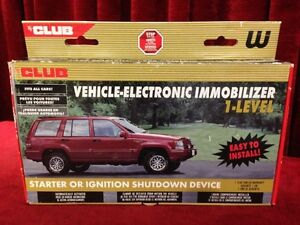 Vehicle Electronic Immobilizer by The Club Windsor Region Ontario image 1