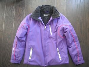 Girls Purple SunIce Jacket Size 16