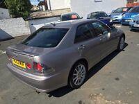 Lexus is300 FSH LONG MOT