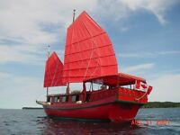 Your PEI Wedding on a Chinese Junk!
