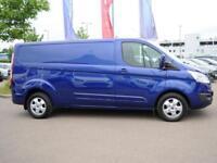 2017 Ford Transit Custom 290 LWB 2.0 Tdci Limited 130 PS Diesel blue Manual
