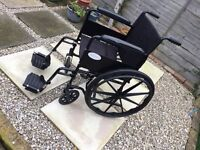 """Angel Mobility Wheelchair with 20"""" seat"""