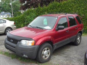 2003 Ford Escape xl VUS,,2x4,,VISA,MASTER