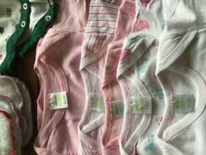 Baby Clothes,  0-9 mos assorted as new
