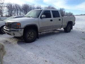 03 1500 hd 6.0l 250xxx loaded minus sunroof