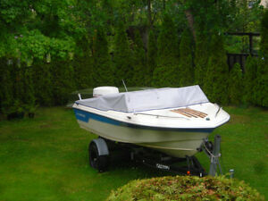 Runabout Fishing Boat