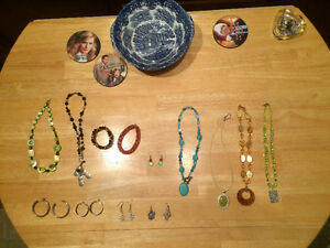Beautiful hand made various jewelry