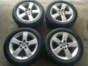 Honda Mags / Alloys with summer tires