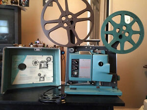 Bell & Howell Filmosound vintage movie projector.