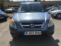 2003 Honda CR-V 5Dr 4wd 2.0 144 SE Sport Auto4 Petrol blue Automatic
