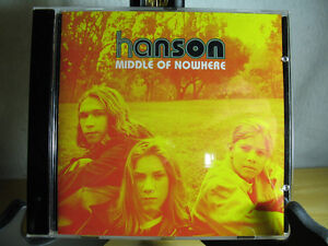 """Hanson, """"Middle of Nowhere"""", New CD without wrap"""