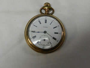 Waltham A.W.C Gold Plated Pocket watch - Parts