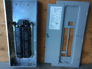 GE electrical panel and breakers for sale