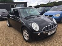 MINI ONE 1.6 2004 IDEAL FORST CAR CHEAP INSURANCE HPI CLEAR TONS OF SERVICE HISTORY