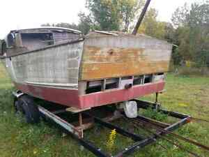 1957 Chris Craft wooden boat, winter project  London Ontario image 4