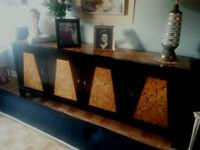 Bahut de salon/salle à manger, vintage 1961, très rare
