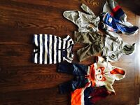 Boys 12M Fall/Winter Sweaters and Jackets