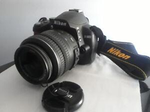 Nikon D3000 DSLR Camera with AF-S 18-55 MM VR Lens - OBO