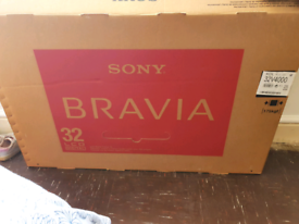 "Sony Bravia 32"" LCD TV Boxed"