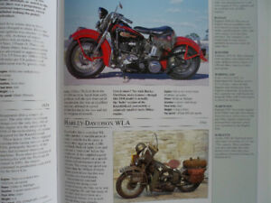 HARLEY DAVIDSON, ENCYCLOPEDIA OF MOTORCYCLES, ETC