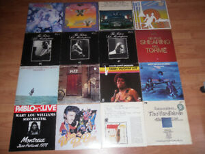 blues and jazz LPs - Zappa + Mothers
