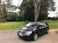2004 Peugeot 307 1.6 HDi XSi 3 Door Hatchback Black