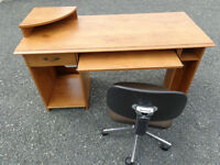 Office Desk and Chair