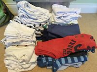 Large bundle of baby boy 0-3 months clothes